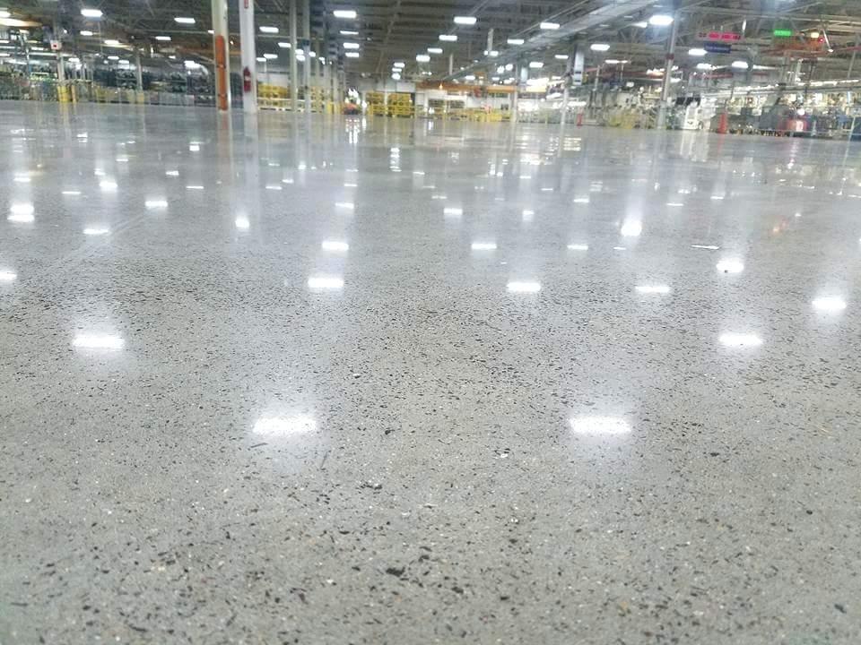 шлифовка бетона фер